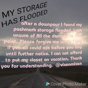 FLOODED CLOSET